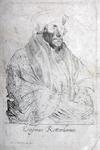 M-538 Portret van Desiderius Erasmus, humanist.