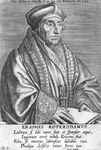 M-539 Portret van Desiderius Erasmus, humanist.