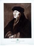 M-545 Portret van Desiderius Erasmus, humanist.