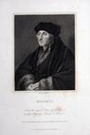 M-546 Portret van Desiderius Erasmus, humanist.