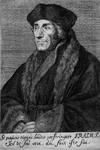 M-552 Portret van Desiderius Erasmus, humanist.