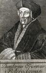 M-554 Portret van Desiderius Erasmus, humanist.