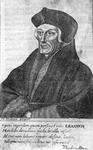 M-555 Portret van Desiderius Erasmus, humanist.