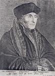 M-564 Portret van Desiderius Erasmus, humanist.
