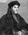 M-566 Portret van Desiderius Erasmus, humanist.