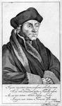 M-569 Portret van Desiderius Erasmus, humanist.