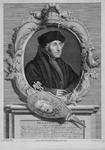 M-570 Portret van Desiderius Erasmus, humanist.