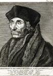 M-573 Portret van Desiderius Erasmus, humanist.