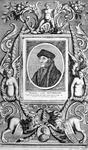 M-578 Portret van Desiderius Erasmus, humanist.