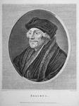 M-582 Portret van Desiderius Erasmus, humanist.