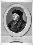 M-583 Portret van Desiderius Erasmus, humanist.
