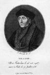 M-584 Portret van Desiderius Erasmus, humanist.