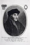 M-589 Portret van Desiderius Erasmus, humanist.