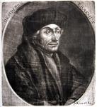M-594 Portret van Desiderius Erasmus, humanist.