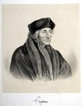 M-596 Portret van Desiderius Erasmus, humanist.