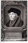 M-601 Portret van Desiderius Erasmus, humanist.