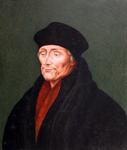 M-609 Portret van Desiderius Erasmus, humanist.