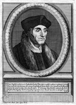 M-616 Portret van Desiderius Erasmus, humanist.