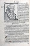 M-617 Portret van Desiderius Erasmus, humanist.