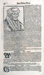 M-618 Portret van Desiderius Erasmus, humanist.