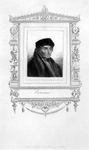 M-621 Portret van Desiderius Erasmus, humanist.