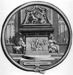 M-628 Portret van Desiderius Erasmus, humanist.