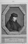 M-632 Portret van Desiderius Erasmus, humanist.