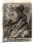 M-640 Portret van Desiderius Erasmus, humanist.