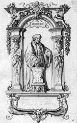 M-655 Portret van Desiderius Erasmus, humanist.