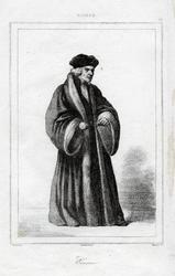 M-660 Portret van Desiderius Erasmus, humanist.