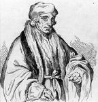 M-661 Portret van Desiderius Erasmus, humanist.
