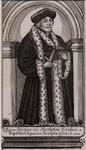 M-662 Portret van Desiderius Erasmus, humanist.