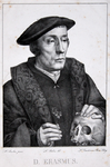 M-678-NB-3 Portret van een natuurkundige uit de tijd van Desiderius Erasmus, heeft ten onrechte het onderschrift D.Erasmus.