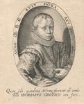 M-837 Portret van mr. Hugo de Groot, staatsman en rechtsgeleerde. Pensionaris van 1613 - 1618.
