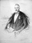 P-003353 Portret van Jacob Arnout Besier, kolonel commandant marinier.