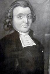 P-003379 Portret van Samuel van Beuningen, predikant te IJsselmonde van 1787-1788.