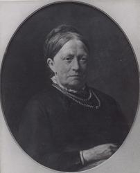 P-004163 Portret van Anna Reinoudina Delprat gehuwd met Robert Baelde ' 1819 - 1892 ', dochter van Guillaume Henri ...