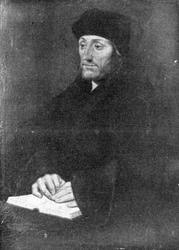 P-004501 Portret van Desiderius Erasmus, humanist.