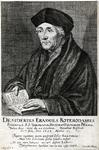 P-004506 Portret van Desiderius Erasmus, humanist.