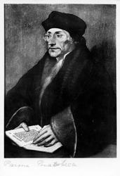 P-004511 Portret van Desiderius Erasmus, humanist.