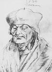 P-004514 Portret van Desiderius Erasmus, humanist.
