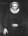 P-004907-2 Portret van Jacomina Groeninx - Jansdz., echtgenote van Marinus Mattheusz Groeninx.