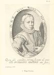 P-004926-15 Portret van Mr. Hugo de Groot, staatsman en rechtsgeleerde. Pensionaris van 1613 tot 1618 van Rotterdam.