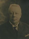P-006286-3 Portret van Johannes Lourens, redacteur van de Nieuwe Rotterdamsche Courant; NRC.