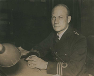 P-006295 Portret van Frederik Lugt, luitenant-kolonel; commandant van de afdeling mariniers.