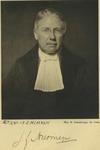 P-006750 Portret van Jan Frederik Niermeijer, hoogleraar aan de Rijksuniversiteit te Utrecht en aan de Handels ...