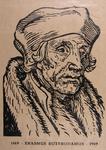 P-009983 Portret van Desiderius Erasmus, humanist.