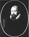 P-020349 Portret van Simon Egberts Episcopius, van 1610 tot 1612 predikant te Bleiswijk en van 1626 tot 1634 nauw ...