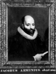 P-020355 Portret van Jacobus Arminius, remonstrants predikant.