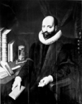 P-020356 foto van een portret van Jacobus Arminius, Remonstrants predikant,.